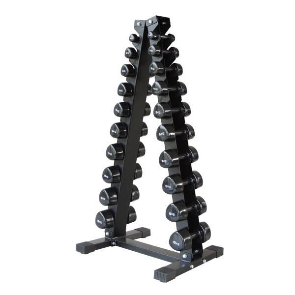 kit de halteres com rack 1kg at 10kg fit4 store. Black Bedroom Furniture Sets. Home Design Ideas