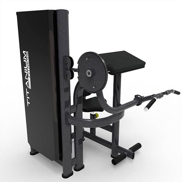 7e53aa457 Máquina Bíceps e Tríceps Titanium Fitness Special