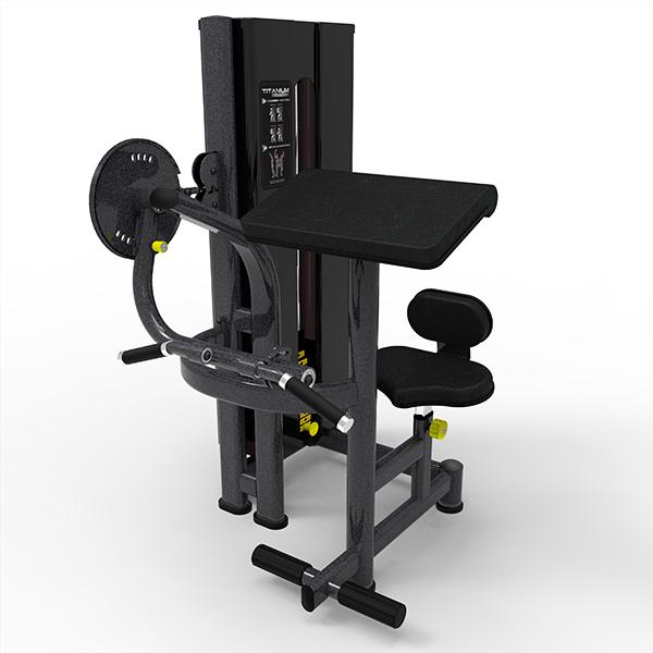 4586b09d4 passe o mouse para ver em zoom. Máquina Bíceps e Tríceps Titanium Fitness  Special · Máquina Bíceps e Tríceps Titanium Fitness Special