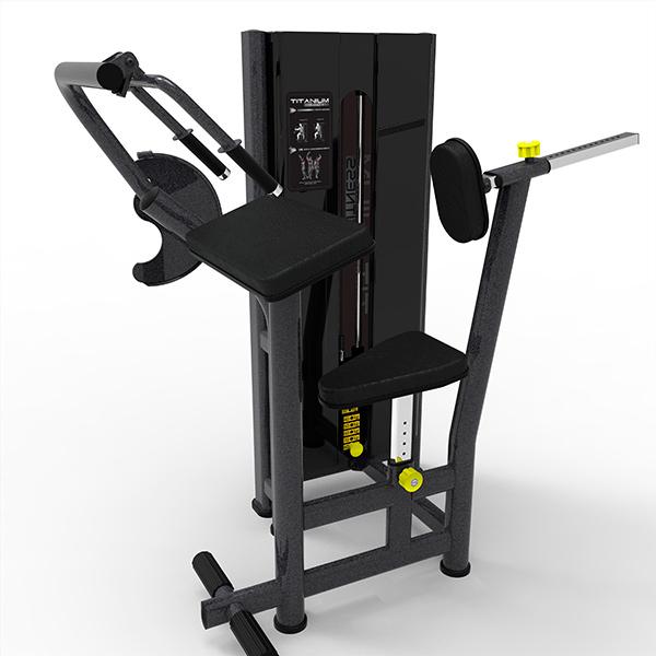 d022cc00a passe o mouse para ver em zoom. Máquina Tríceps Sentado Titanium Fitness  Special · Máquina Tríceps Sentado Titanium Fitness Special