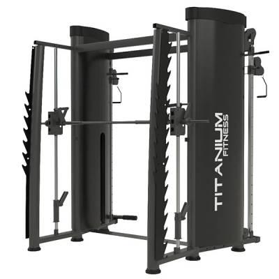 Cross Angular com Smith Titanium Fitness Essential